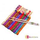 Декорированные бамбуковые палочки для еды, 10шт