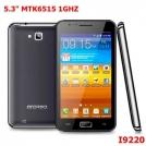"MEITE i9220 - смартфон, Android 2.3.5, MTK6515 (1GHz), 5.3"" TFT LCD, 256MB RAM, 256MB ROM, Wi-Fi, Bluetooth, TV, FM, 8MP задняя камера, 0.3MP фронтальная камера"