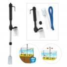 Гравийный фильтр с насосом для чистки аквариума (228)