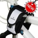 Сумка для телефона, для горного велосипеда, несколько отделений, крепление к раме