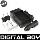 NB-9L - 3 аккумулятора + зарядное устройство + зарядка для авто, для Canon SD4500 IS IXUS 1000HS IXY 50S