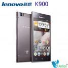 "Lenovo K900 - смартфон, Android 4.2, Full HD 5.5"" IPS, Intel Atom Z2580 (2 х 2 ГГц), 2ГБ RAM, 16ГБ ROM, поддержка карт microSD, 3G, Wi-Fi, Bluetooth, GPS, FM-радио, TV-тюнер, основная камера 13МП и фронтальная камера 2МП"
