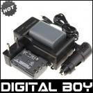NB-2L - 2 аккумулятора + зарядное устройство + зарядка для авто, для Canon Power Shot S30 40 45