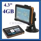 Автомобильный GPS навигатор 4.3 дюйма