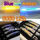 Комплект накладок для дверных ручек с LED подсветкой для Toyota, Chevrolet, Lexus, Mazda