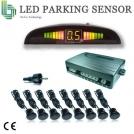 HTG-MLN8688 - парктроник, цветной LCD-дисплей, 8 датчиков