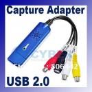 Видео-адаптер со звуком DC60 CCTV VHS