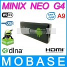 MINIX NEO G4 -ТВ-приемник, Android, WiFi, медиаплеер, Android 4.0,USB, HDMI
