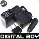 BP727 - 4 аккумулятора + зарядное устройство + зарядка для авто, для Canon VIXIA HF M50/52/500/56/506