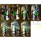 Набор накладных ногтей с рисунком, 12 шт.
