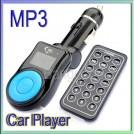 Автомобильный FM-трансмиттер - MP3 плеер, USB, SD TF MMC + пульт дистанционного управления