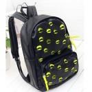 Рюкзак женский с узором в виде отпечатка губной помады, 3 цвета на выбор
