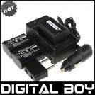 NP-FV50 - 3 аккумулятора + зарядное устройство + автомобильное зарядное устройство + штекер для Sony NP-FV30 NP-FV40 HDR-CX150E.HDR-CX170.HDR-CX300
