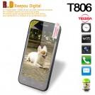 "Telsda T806 - смартфон, Android, Dual Core, 4.3"", 2 SIM-карты, 512МБ RAM, <2G ROM, поддержка карт microSD, GSM, Wi-Fi, Bluetooth, основная камера 8МП"