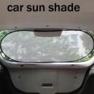 Автомобильная солнцезащитный экран, цвет серебро, Гауссовская сетка, 500 х 1000 мм