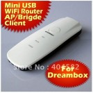 Беспроводной Wi-Fi роутер - USB 2.0, 802.11N/G/B, 150 Мб/с (31мм x 84 мм)