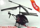 WLToys S977 - радиоуправляемый вертолет с видеокамерой, гироскопом и ИК-пультом, 23 см
