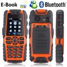 "Land Rover S8 - мобильный телефон, 2"" TFT LCD, MP3/MP4, FM, Bluetooth, 2 SIM, 1.3MP камера, пыленепроницаемый/водонепроницаемый/противоударный"
