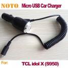 Автомобильное зарядное устройство для TCL idol X S950