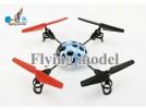 WLToys V929 - радиоуправляемый вертолет-квадрокоптер с гироскопом и подсветкой, 19 см