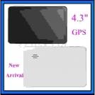 Автомобильный GPS навигатор 4,3 дюймовый сенсорный экран