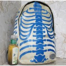Рюкзак в стиле унисекс с узором в виде скелета, 5 цветов на выбор
