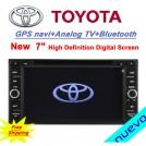 "ND1881 - Автомагнитола для Toyota, 7"", DVD, GPS, USB, SD, Ipod"
