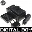 EN-EL14 - батарея LI-ION, зарядное устройство, автомобильное зарядное устройство для камер Nikon D3100 D5100 D3200 P7000 P7100