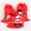 Упаковка для новогодних подарков мешок, 5шт