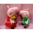 "Мягкие игрушки ""Свинка Пеппа и Джордж"""