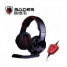SA-903 - наушники для геймеров с микрофоном для ПК