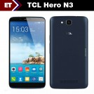 "TCL Hero N3/Y910 - Смартфон, Android 4.2, MTK6589T 1.5GHz, 6"", Dual SIM, 2GB RAM, 16GB ROM, GSM, 3G, Wi-Fi, GPS, Bluetooth, основная камера 13.0Mpix"
