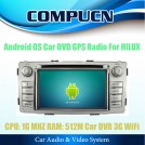 CompuCN CN-I143 - Авто ПК для TOYOTA HILUX 2012, Android 2.3, 3G, Wi-Fi, DVD, GPS, радио, ТВ, Bluetooth