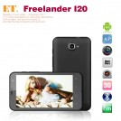 "Freelander I20 - смартфон, Android 4.0.3, Samsung Exynos 4412 Quad Core (4x1.4GHz), HD 4.7"" IPS (Gorilla Glass), 1GB RAM, 8GB ROM, 3G, Wi-Fi, Bluetooth, GPS, 13MP задняя камера, 2MP фронтальная камера"