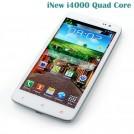 """iNew i4000 - смартфон, Android 4.2, MTK6589T Quad Core 1.5GHz, 5.0"""" FHD IPS 1080Р, 2 SIM-карты, 1ГБ RAM, 16ГБ ROM, поддержка карт microSD, WCDMA/GSM, Wi-Fi, Bluetooth, GPS, FM-радио, основная камера 12МП и фронтальная камера 5МП"""