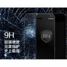 Стеклянная защитная накладка для экрана iPhone 5S