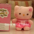 Говорящая мягкая игрушка Hello Kitty, 12 секунд звукозаписи