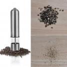 Электрическая мельничка для соли и специй в металлическом корпусе