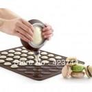 Набор силиконовых форм для выпечки, 2 шт.+ кондитерский шприц