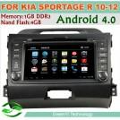 Greenyi G-8043A - Авто ПК для Kia Sportage R 2010-2012, Android 4.0, 3G, Wi-Fi, DVD, GPS