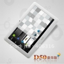 "Icoo D50 Deluxe II - планшетный компьютер, Android 4.0.3, Allwinner A13 (1.2GHz), 7"" TFT LCD, 512MB RAM, 4GB ROM, Wi-Fi, 1.3MP фронтальная камера"