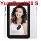 "Yuandao Window N70S - планшетный компьютер, Android 4.1.1, 7"" TFT LCD, Rockchip RK3066 (2x1.6GHz), 1GB RAM, 8GB ROM, Wi-Fi, 0.3MP фронтальная камера"