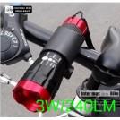Передний фонарь для велосипеда пятицветный