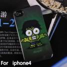 Чехол-крышка для Iphone 4, 4G, 4S, 5, 5G с мультяшными героями