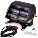 Светодиодная лампа аварийного освещения, 18 LED-диодов, присоски, 12V
