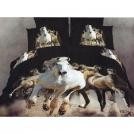 Комплект постельного белья Лошади