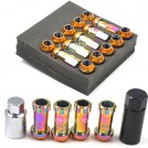 Project R40 - Комплект алюминиевых запирающих гаек колеса, M12 х P1.5: Nissan, Subaru, Suzuki