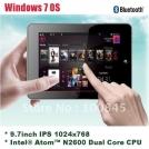 """Aoson R92 - планшетный компьютер, Windows 7, 9.7"""" IPS, Intel Atom N2600 (2x1.66GHz), 2GB RAM, 32GB SSD, Wi-Fi, Bluetooth, HDMI, 3G, 1.3MP фронтальная камера"""