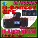 GS1000VSC - автомобильный видеорегистратор с GPS