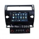 Автомагнитола DVD – GPS, радио, для Citroen Citroen C4, черная